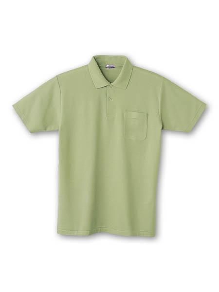 DESK24404 半袖ポロシャツ 039/アースグリーン