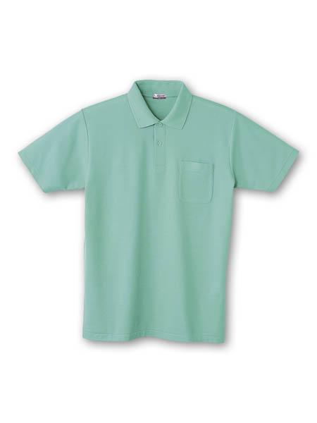 DESK24404 半袖ポロシャツ 071/エメラルド