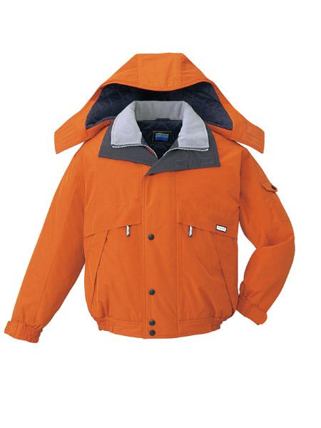 DESK48230 透湿防水防寒ブルゾン(フード付) 113/ブリック