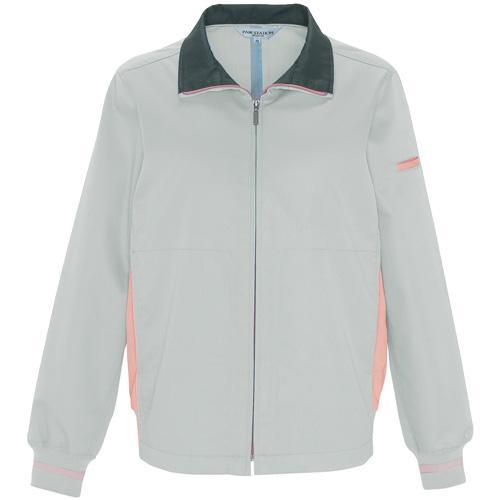 AZ-1510 レディース長袖ブルゾン[社名刺繍無料] カラー:シルバーグレー