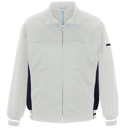 AZ-1501 長袖ブルゾン[社名刺繍無料] カラー:シルバーグレー