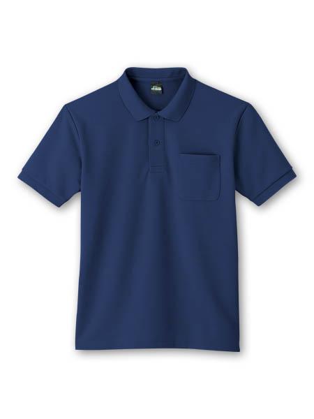 DESK84914 半袖ポロシャツ 011/ネービー